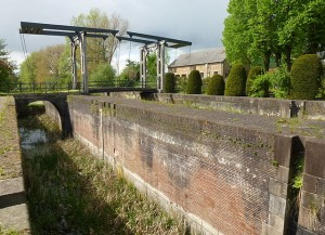 Ejderkanal-sluse ved Krummwisch Foto: Holger Ellgaard